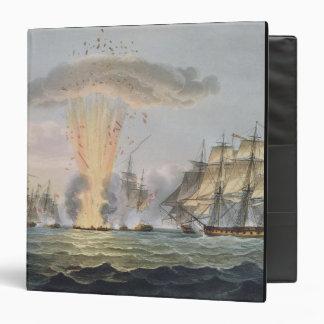 Capture and Destruction of Four Spanish Frigates, Binder