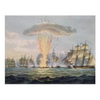 Capture and Destruction of Four Spanish Frigates, Postcard