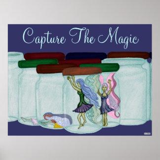Capture la magia póster