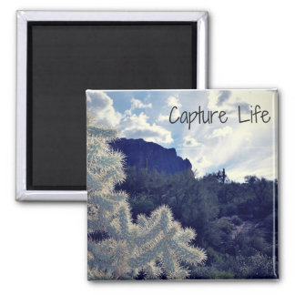 Capture Life Magnet of the Superstition Mountains