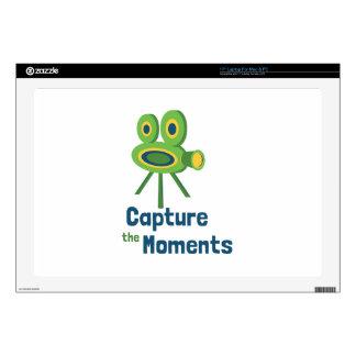 "Capture Moments 17"" Laptop Decal"