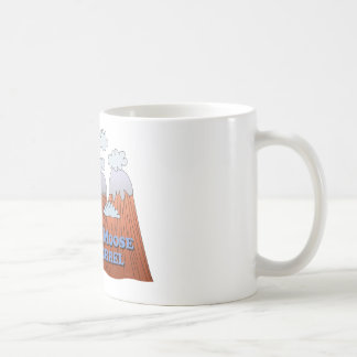 Capture Moose and Squirrel - Dark Coffee Mug