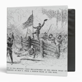 Capture of a part of the burning union binder