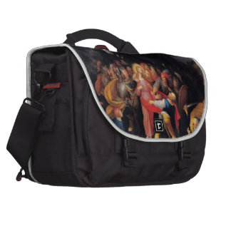 Capture of Christ  Painting image by Master Artist Laptop Computer Bag