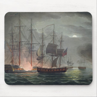 Capture of La Desiree, July 7th 1800, from 'The Na Mouse Pad