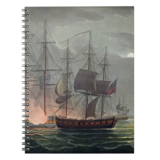 Capture of La Desiree, July 7th 1800, from 'The Na Notebook