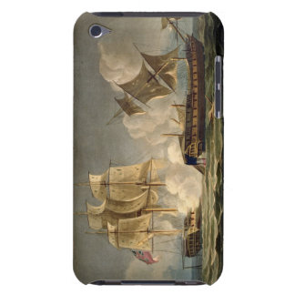 Capture of La Forte, February 28th 1799, engraved Case-Mate iPod Touch Case