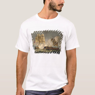 Capture of La Forte, February 28th 1799, engraved T-Shirt