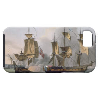 Capture of La Reunion, October 21st 1793, from 'Th iPhone SE/5/5s Case