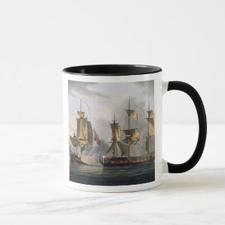 Capture of La Reunion, October 21st 1793, from 'Th Mug