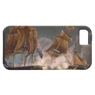 Capture of La Tribune, June 8th 1796, engraved by iPhone SE/5/5s Case