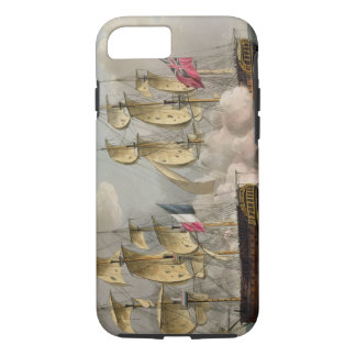 Capture of L'Immortalite, October 20th 1798, from iPhone 7 Case