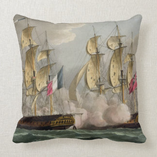 Capture of L'Immortalite, October 20th 1798, from Pillow