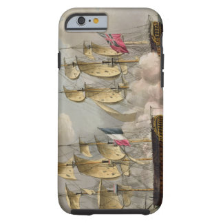 Capture of L'Immortalite, October 20th 1798, from Tough iPhone 6 Case