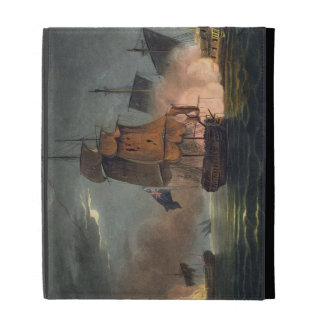 Capture of the Badere Zaffer, July 6th 1808, from iPad Folio Case