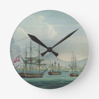 Capture of the Maria Riggersbergen on October 18th Wall Clocks