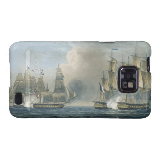 Capture of the Pomone by HMS Arethusa off Cuba in Samsung Galaxy SII Case