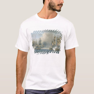 Capture of the Pomone by HMS Arethusa off Cuba in T-Shirt