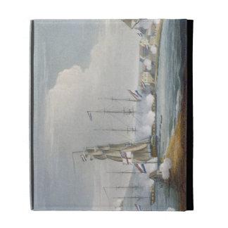 Capture of the port of Curacoa, Dutch East Indies, iPad Folio Case