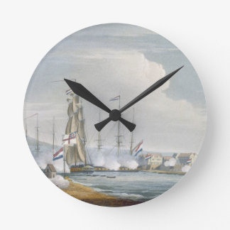 Capture of the port of Curacoa, Dutch East Indies, Round Clock