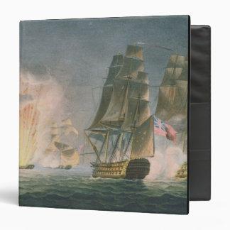 Capture of the Rivoli, 22nd February, 1812, engrav Binder