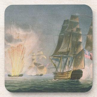 Capture of the Rivoli, 22nd February, 1812, engrav Coaster