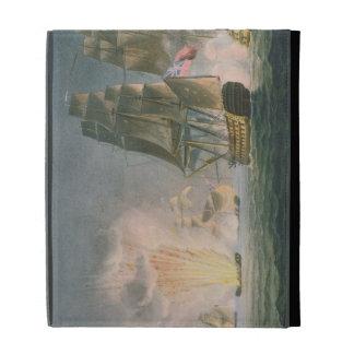 Capture of the Rivoli, 22nd February, 1812, engrav iPad Case