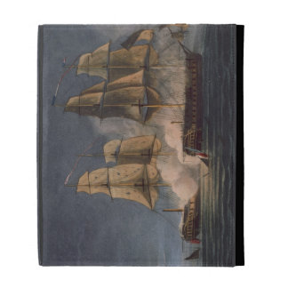 Capture of the Thetis by HMS Amethyst, 10th Novemb iPad Folio Case
