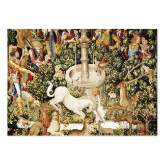 Capture of White Unicorn Business Cards