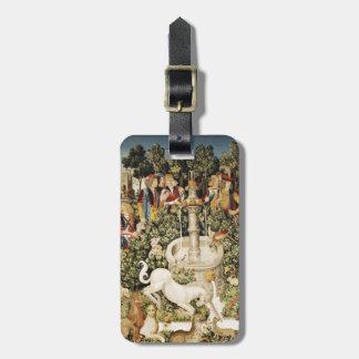 Capture of White Unicorn Luggage Tag