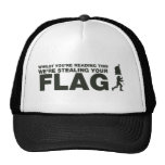 Capture The Flag - Gamer, Gaming, Video Games Hats