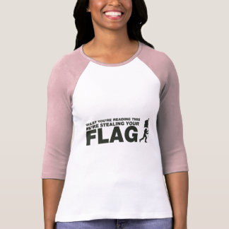 Capture The Flag - Gamer, Gaming, Video Games T-Shirt