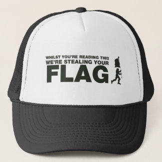 Capture The Flag - Gamer, Gaming, Video Games Trucker Hat