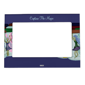 Capture The Magic Picture Frame Magnet