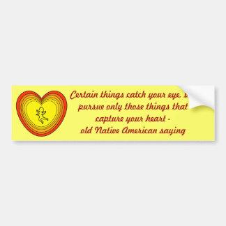 capture your heart bumper sticker car bumper sticker