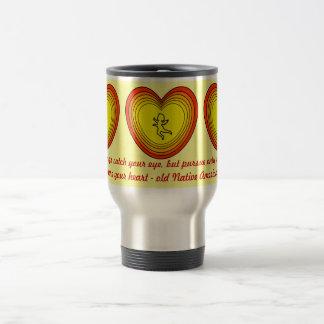capture your heart travel mug