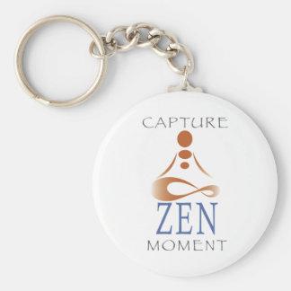 Capture Zen Moment Keychain