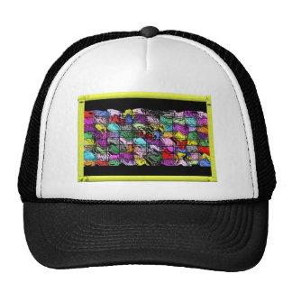 captured color trucker hat