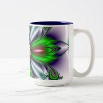 Captured Jewel Two-Tone Coffee Mug