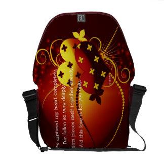 Captured Love Messenger Bag