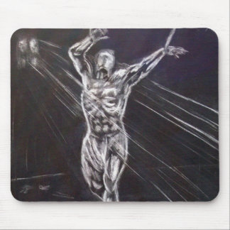Captured Lust Mouse Pad