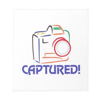 Captured on Camera Notepad