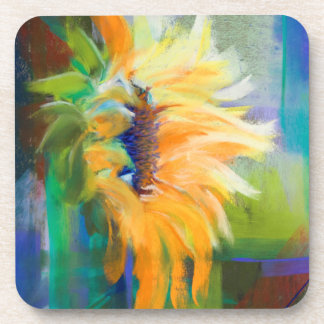 Captured Sunlight Sunflowers Coasters