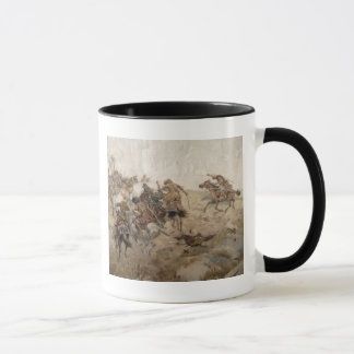 Capturing of the aul Akhtulga Mug