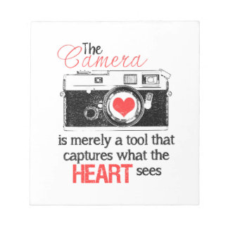 Capturing the Heart Notepad