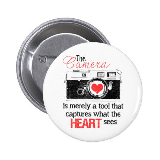 Capturing the Heart Pinback Button