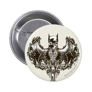 Capucha de Batman y escudo del cráneo Pins