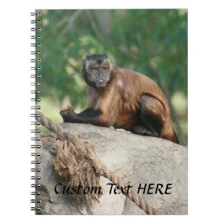 Capuchin Monkey Cute But Cranky Note Books