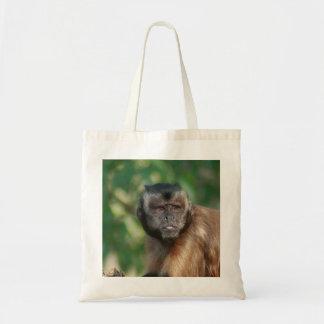 Capuchin Monkey Cute But Cranky Tote Bag