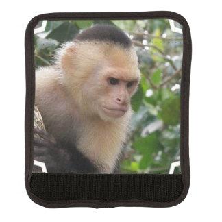 Capuchin Monkey Luggage Handle Wrap